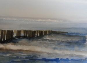 Nordsee Walcheren Größe 38 x 56 cm