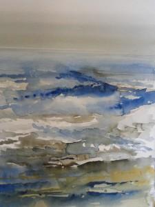 Nordsee bei Walcheren Holland Größe 38 x 56 cm
