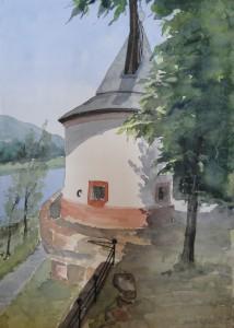 Trier alter Moselkran