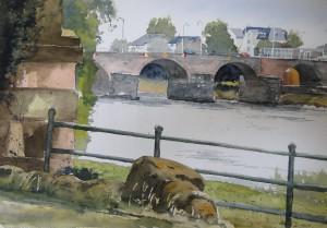Trier Mosel Römerbrücke