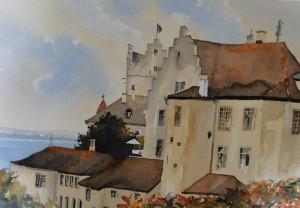 Alte Burg in Meersburg am Bodensee