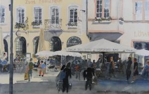 """Freisitz 2Zum Domstein"""" Trierer Hauptmarkt"""