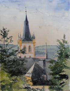 Trier Kirchturm St.Gangolf