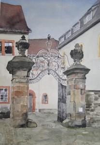 Eingang Wittumspalais in Weimar