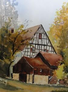 Fischbach Bodensee Alte Eichenmühle