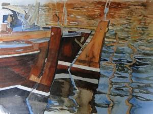 Ostsee Zeesenboote im Hafen