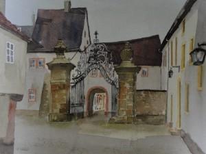 Tor zum Wittumspalais in Weimar
