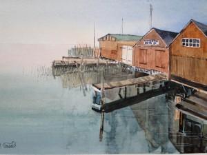Ostsee Bootschuppen Althäger Hafen