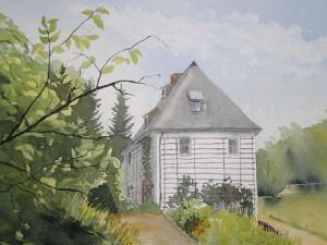 Weimar Goethes Gartenhaus