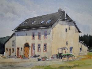 Hof Hinzenburg/Pluwiger Hammer Straßenseite