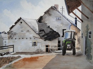 Ollmuth Jakobshof in Ortsmitte