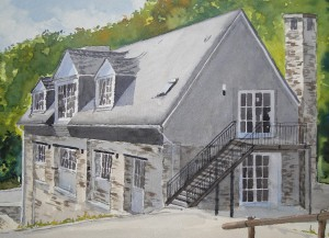 Sommerau Kelterhaus am Ruwerradweg