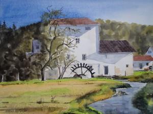 Zerf alte Mühle Bachlauf