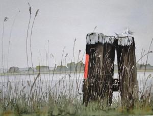 Impression an der Elbe bei Tangermünde