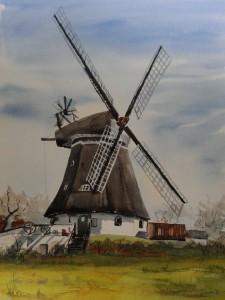 Föhr Mühle bei Wrixum
