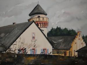 Burg Heid bei Lampaden