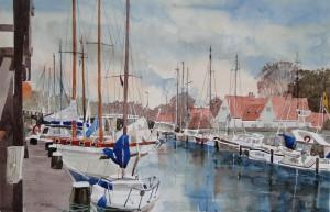 Walcheren Hafen Veere