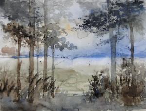 Waldstimmung <br/> Größe 30 x 40 cm