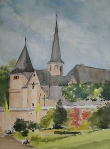 Fulda Michaelskirche bei Dom