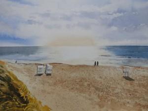 Sylt Strandspaziergang
