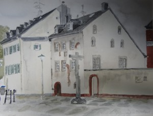 Trier-Pfalzel ältestes Steinhaus Deutschlands