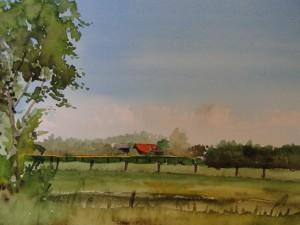 Holland  Walchern bei Dishoek  Größe 26 x 36 cm