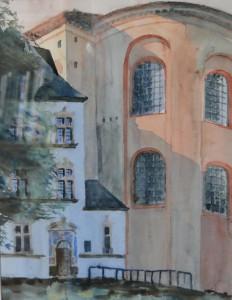 Trier  Basilika  26 x 36 cm