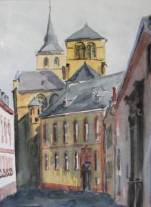 Trier  Liebfrauen  Dom  26 x 36 cm