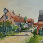 Ortsstraße in Strodehne