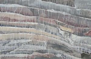 Weinbergean der Untermosel Größe 38 x 56 cm