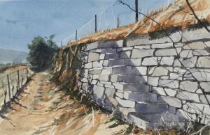 Weinbergmauer mit TreppeGröße 38 x 56