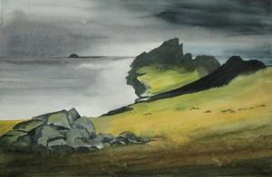 St.Kilda  Schottland  Größe 38 x 56 cm