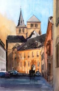 Trier  Dom / Liebfrauen  Größe 38 x 56 cm