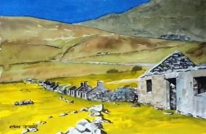 Schottland  St. Kilda  Größe 38 x 56 cm