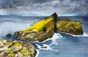 Schottland  St. Kilda, Insel am Ende der Welt  Größe 38 x 56 cm