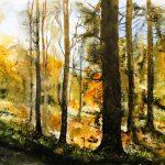 Herbstlicher Hunsrückwald